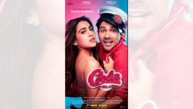 Coolie No.1 Poster: वरुण धवन-सारा अली खान च्या हटके लूकसह 'कूली नंबर 1' चा फर्स्ट लूक प्रदर्शित