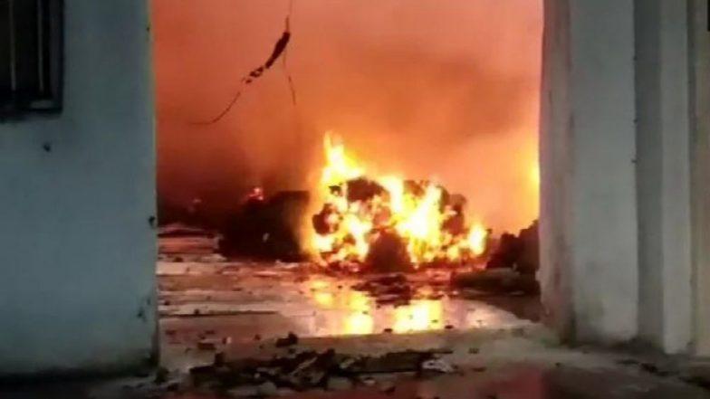 भायखळा परिसरातील लाकडाच्या वखारीला भीषण आग; अग्निशमन दलाचे प्रयत्न सुरु