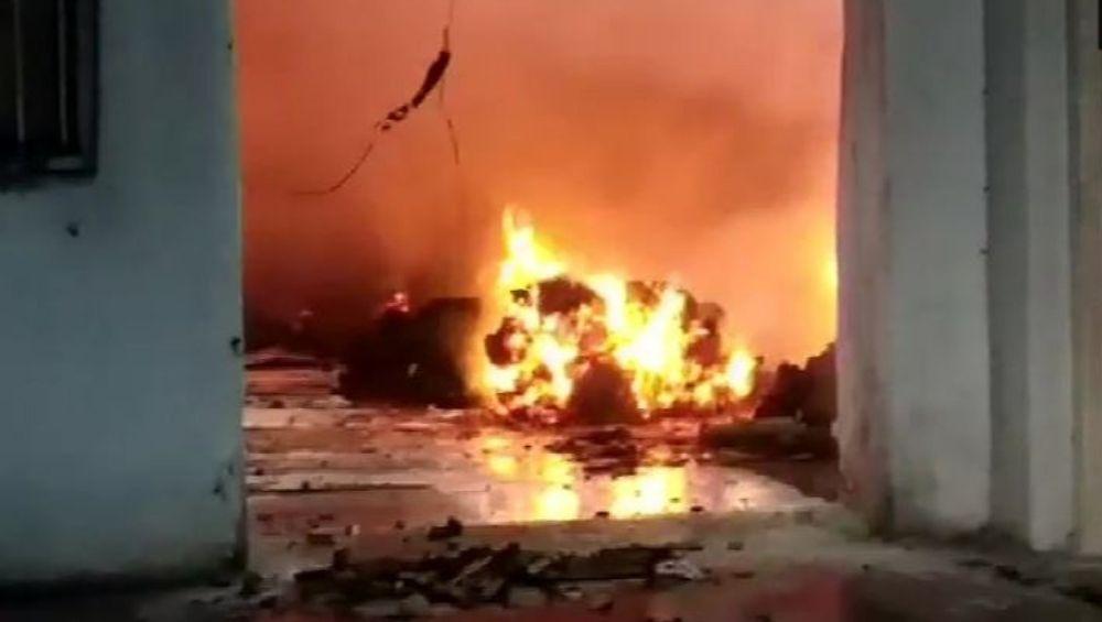 Mumbai Fire: भिंवडी येथील चंदन पार्क परिसरात फॅक्टरीला भीषण आग; लाखोंचं नुकसान झाल्याची भीती
