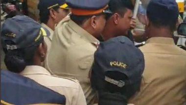 मुंबई : मनसे सरचिटणीस संदीप देशपांडे मुंबई पोलिसांच्या ताब्यात; मनसैनिकांना जमावबंदीची नोटीस
