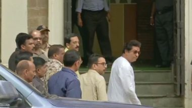 Raj Thackeray ED Enquiry Live Updates: राज ठाकरे ईडी कार्यालयात; ठाकरे कुटुंबीय 'ग्रॅन्ड' हॉटेलमध्ये