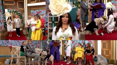 तब्बल 221 पुरुषांना डेट केल्यानंतर सुपर मॉडेलने केले चक्क कुत्र्याशी लग्न; टीव्ही शोमध्ये प्रसारित झाला लग्न सोहळा (Video)