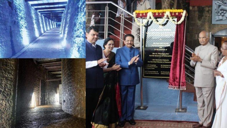 मुंबई: राजभवनातील भूमिगत बंकर यावर्षीपासून पर्यटकांसाठी खुले; आज राष्ट्रपतींच्या हस्ते झाले उद्घाटन