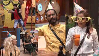 Bigg Boss Marathi 2, August 23, Episode 90 Update: अनोख्या पद्धतीने सदस्यांनी साजरा केला बिग बॉसचा वाढदिवस; बिचुकले आणि नेहाच्या भांडणाने लागले गालबोट