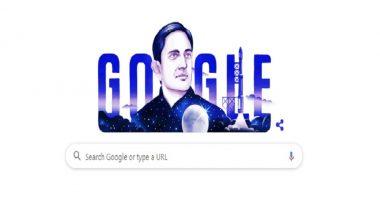विक्रम साराभाई यांची जन्मशताब्दी: भारतातील अंतराळ युगाच्या शिल्पकाराला  Google Doodle द्वारे सलाम