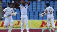 IND vs WI 1st Test Day 3: विराट कोहली-अजिंक्य रहाणे यांची शतकी भागीदारी; तिसऱ्या दिवसा खेर टीम इंडियाकडे 260 धावांची आघाडी