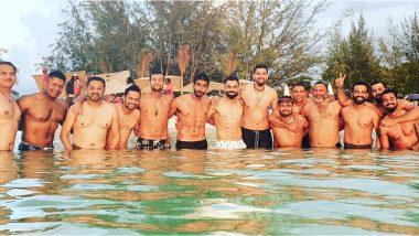 IND vs WI Test 2019: विराट कोहली याने शेअर केला टीम इंडियासह शर्टलेस फोटो; रोहित शर्मा याचाही समावेश