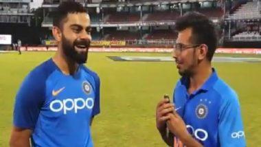 West Indies विरुद्ध शतकी खेळीनंतर विराट कोहली याने दिली Chahal TV ला खास मुलाखत, आपल्या डान्सबद्दल केले हे रोचक विधान, पहा Video