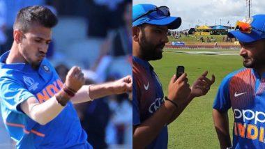 IND vs WI 3rd T20I मॅचनंतर रोहित शर्मा याने घेतली रिषभ पंत याची मुलाखत; युजवेंद्र चहल याने प्रश्न विचारात BCCI ची घेतली फिरकी, पहा हे Tweet