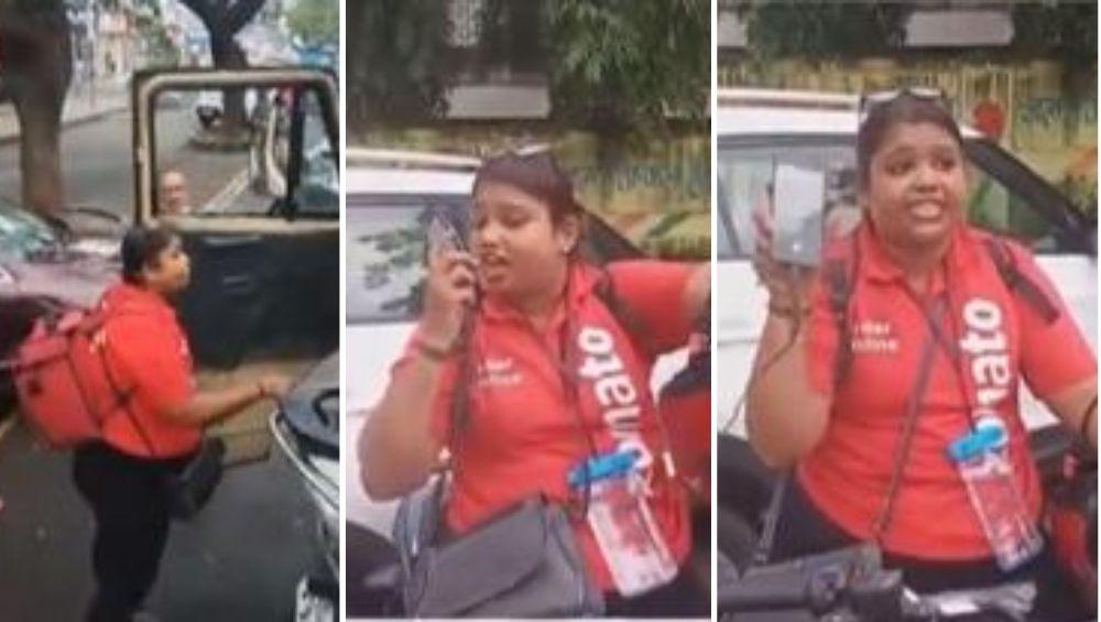 नवी मुंबई: Zomato च्या महिला कर्मचाऱ्याने पोलिसांना शिवीगाळ केल्याचा आरोप, पहा व्हिडिओ