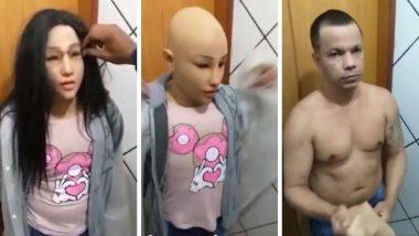 ब्राझील: तुरुंगातून पळ काढण्यासाठी गुंडाने केला स्वत:च्या मुलीचा पेहराव, आरोपीला अटक
