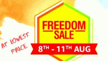 Amazon Freedom Sale: अॅमेझॉन फ्रिडम सेलमध्ये 'या' शानदार स्मार्टफोनवर मिळणार भरघोस सूट, जाणून घ्या