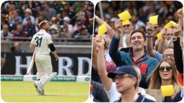 Ashes 2019: मँचेस्टर टेस्टमध्ये ड्रेसिंग रूममधून बाहेर पडताना डेव्हिड वॉर्नरला चाहते म्हणाले'चीटर', वॉर्नर ने खास अंदाजात दिले प्रत्युत्तर, पहा Video