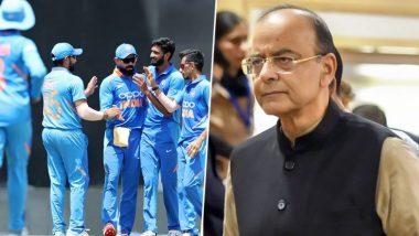IND vs WI 1st Test Day 3: अरुण जेटली यांना 'या' अंदाजात टीम इंडिया वाहणार श्रद्धांजली, जाणून घ्या