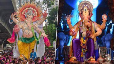 Ganeshotsav 2019: मुंबईतील गणेशोत्सवाला चांद्रयान 2 मोहिमेचा साज, लालबागचा राजा आणि परळचा राजा होणार अंतराळात विराजमान