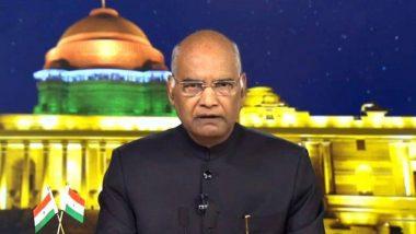 Independence Day 2019 Live Streaming: राष्ट्रपती रामनाथ कोविंद यांचे 73 व्या स्वातंत्र्य दिनाचे भाषण पहा Doordarshan News वर Online