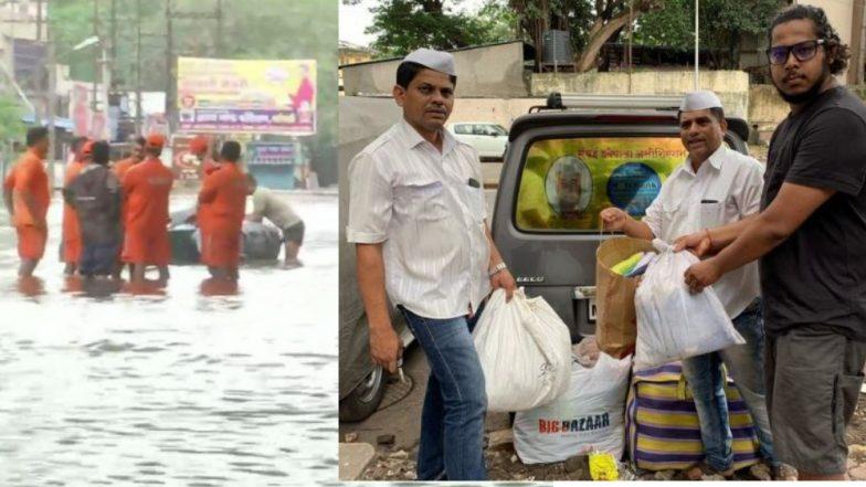 Maharashtra Flood: मुंबई डब्बावाला एसोसिएशन आणि मुंबई रोटी बॅंक पूरग्रस्तांसाठी सरसावले