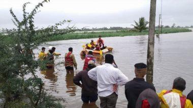 Sangli Flood: सांगली मधील ब्रम्हनाळ गावात पूरग्रस्तांना मदतीदरम्यान अपघात; बोट उलटल्याने 16 जण बुडाल्याची भीती