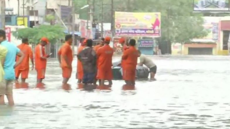 कोल्हापुरात पुन्हा एकदा पाऊस सक्रिय; प्रशासनाकडून रहिवाशांना सतर्क राहण्याचा इशारा