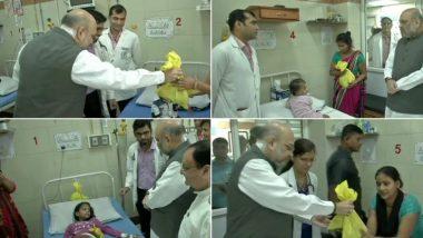 दिल्ली: नरेंद्र मोदी यांच्या वाढदिवसानिमित्त BJP च्या 'सेवा सप्ताह'ला सुरूवात; अमित शहा, जे पी नड्डा यांनी केली AIIMS मध्ये साफसफाई