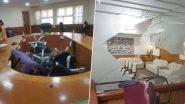 मीरा-भाईंदर महापालिकेत शिवसेना-भाजप नगरसेवकांमध्ये राडा; शिवसेनेच्या नगरसेवकांकडून स्थायी समितीच्या सभागृहाची तोडफोड