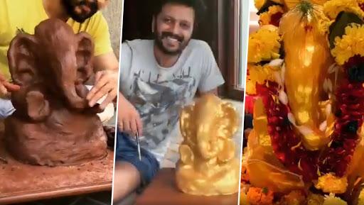 Ganeshotsav 2019: रितेश देशमुख ने साकारला मातीचा बाप्पा, सोशल मीडियावर शेअर केला Making Video
