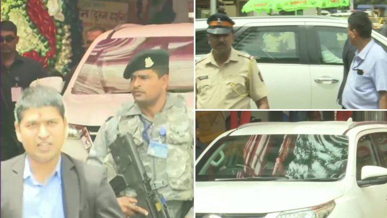 मुंबई: केंद्रीय गृहमंत्री अमित शहा यांनी गणेश चतुर्थी निमित्त घेतलं सिद्धिविनायक मंदिरात दर्शन