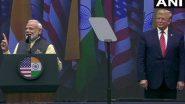 नरेंद्र मोदीं यांच्याकडून पाकिस्तानला सूचक इशारा; म्हणाले, दहशतवादाविरोधात ट्रम्प आमच्यासोबत
