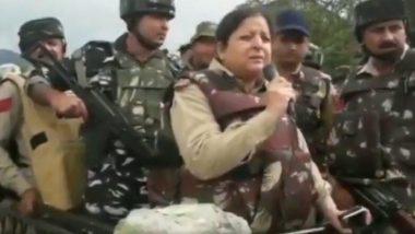 Ramban Encounter: रामबन येथील चकमकीपूर्वी एसएसपी अनिता शर्मा यांनी दहशतवाद्यांना आत्मसमर्पणाचा दिला होता इशारा, पाहा संपूर्ण व्हिडिओ