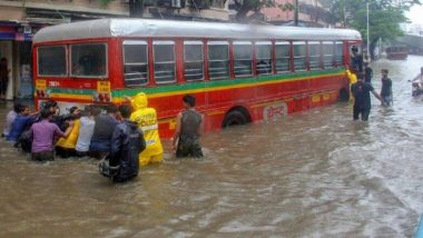 Mumbai Rains Update: मुंबईत सखल भागामध्ये पाणी साचल्याने काही BEST Bus च्या मार्गात बदल