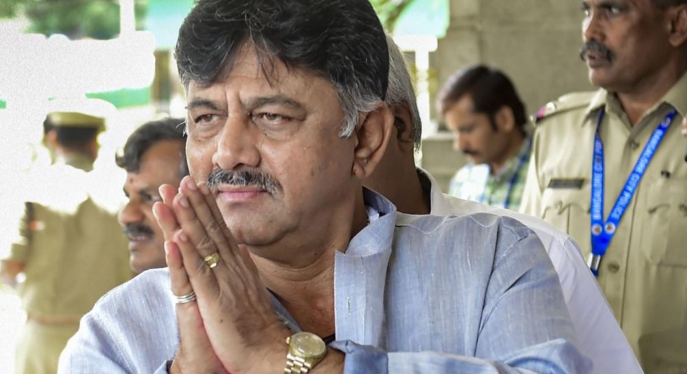 कर्नाटक काँग्रेसचे ज्येष्ठ नेते डीके शिवकुमार यांना Money Laundering प्रकरणात ED कडून अटक