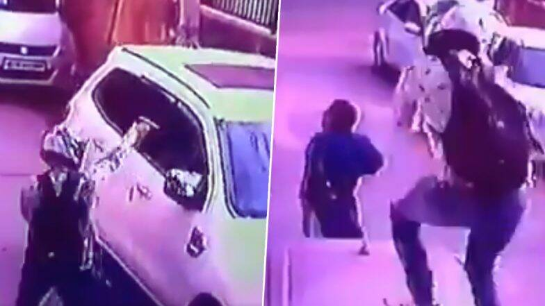 दिल्ली: द्वारका मध्ये दिवसाढवळ्या भर रस्त्यात व्यावसायिकावर अज्ञात इसमांनी केला बेछूट गोळीबार, पाहा अंगावर काटा आणणारा हा व्हिडिओ