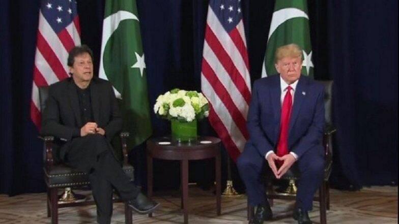 भारत आणि पाकिस्तान देशाची इच्छा असल्यास 'कश्मीर प्रश्नी' अमेरिकन राष्ट्राध्यक्ष  डोनाल्ड ट्रम्प मध्यस्थी करण्यास तयार