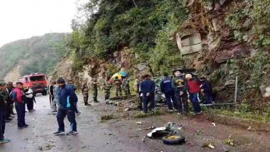 भारतीय लष्कराच्या हेलिकॉप्टरला भूतानमध्ये अपघात; पायलटचा वाढदिवशी मृत्यू