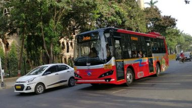 मुंबईतील मुलंड येथील बस डेपोमधील इलेक्ट्रीक बसला आग; कोणतीही जीवितहानी नाही