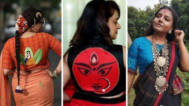 Navratri Fashion Trends 2019: यंदा नवरात्रीत तुमचे सौंदर्य अधिक खुलवतील 'या' हटके आणि ट्रेन्डी साड्या (Photos)
