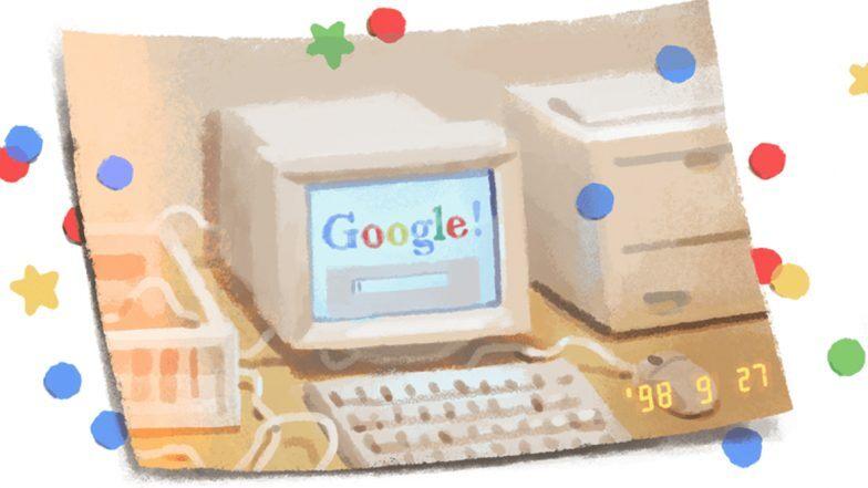 Google चा २१ वा वर्धापन दिन: 1998 चा 'Throwback' फोटोच्या माध्यमातून गूगलने साकारले बर्थ डे स्पेशल गूगल डुडल