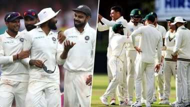 IND vs SA 1st Test Day 2: रोहित शर्मा, मयंक अग्रवाल यांचेतिहेरी शतक; टीम इंडियाचा पहिला डाव 502/7 धावांवर घोषित