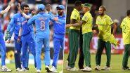 IND vs SA 1st T20I: भारत-दक्षिण आफ्रिका मॅचमध्ये पावसाची बॅटिंग, सामना रद्द