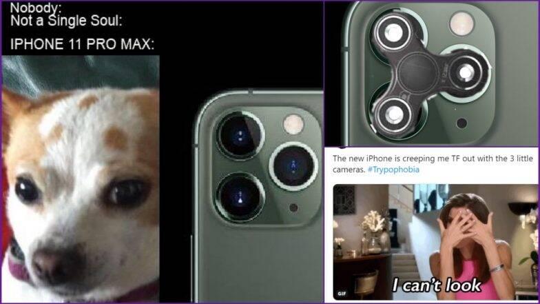 iPhone 11 कॅमेऱ्याच्या लूकवरुन सोशल मीडियात नेटकऱ्यांकडून खिल्ली, पहा मजेशीर मिम्स