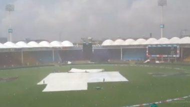 PAK vs SL 1st ODI: श्रीलंकाविरुद्ध कराचीमध्ये पावसामुळे टॉसला विलंब, Netizens ने भारताला धरले जबाबदार