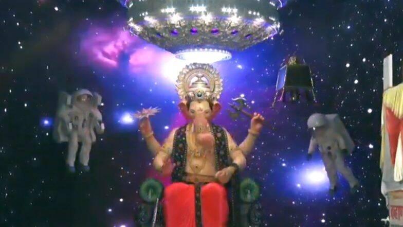 Lalbaugcha Raja 2019 LIVE Mukh Darshan Day 6: गर्दी आणि वाहतूक कोंडीत न अडकताही इथे घ्या लालबागच्या राजाचे लाईव्ह दर्शन
