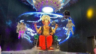 Lalbaugcha Raja 2019 Collection:'लालबागचा राजा' ला 6 कोटीचे दान; भारताची बिघडलेली आर्थिक स्थिती आणि मुंबईतील मुसळधार पावसामुळे यंदा दान रोडावले