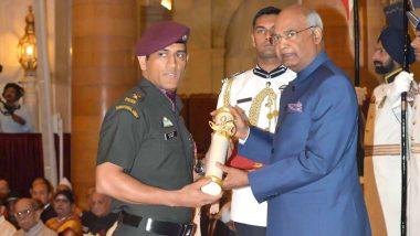 टीम इंडियामधील योगदानाबद्दल राष्ट्रपती रामनाथ कोविंद यांच्याकडून एमएस धोनी चे कौतुक, म्हणाले- धोनीने रांचीला क्रिकेट विश्वात प्रसिद्ध केले