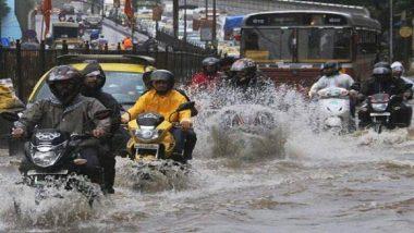 Mumbai Rain: मुंबई, ठाणे आणि पालघर शहरात मुसळधार पाऊस; हवामान खात्याने जारी केला ऑरेंज अलर्ट