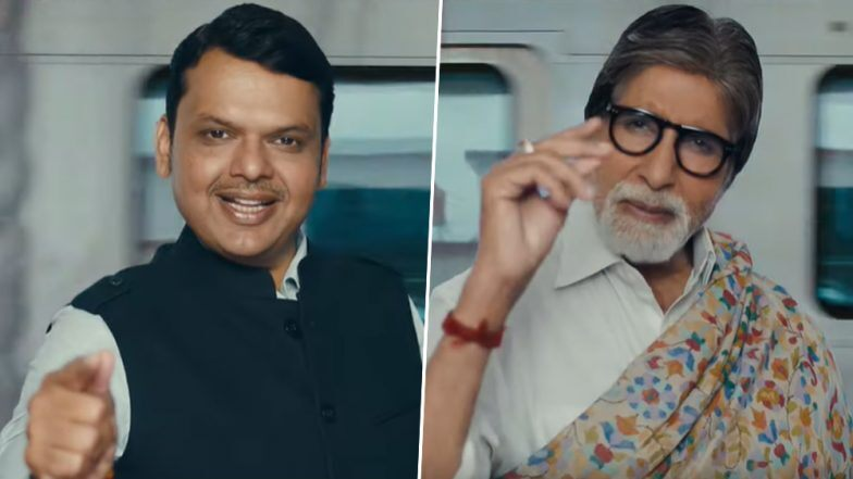 देवेंद्र फडणवीस यांनी 'मुंबई काही मिनिटात' म्हणत शेअर केली Mumbai Metro Project ची खास झलक; अमिताभ बच्चन यांचा सहभाग 'या' कारणाने ठरला चर्चेचा विषय (Watch Video)