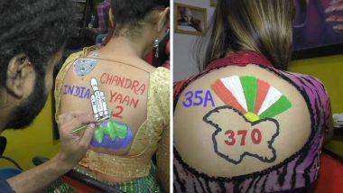 Navratri 2019: खास नवरात्रौत्सव आणि दांडीया राससाठी महिला काढतायत अनोख्या पद्धतीने टॅटू, पहा फोटो