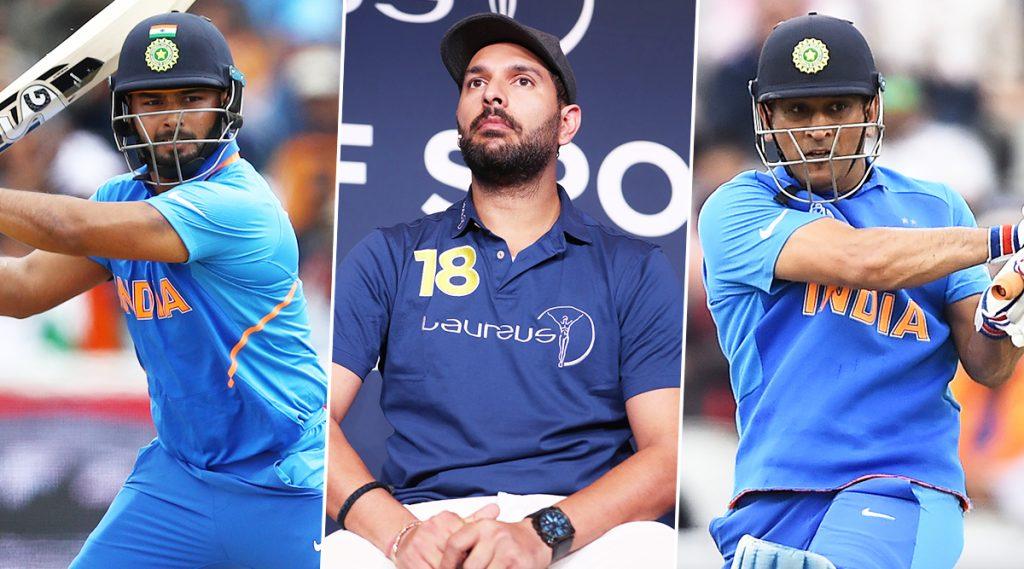 रिषभ पंत च्या फलंदाजीवर सतत उपस्थित केल्या जाणाऱ्या प्रश्नांवरयुवराज सिंह चा टीम इंडियावर हल्ला बोल, कोच आणि कर्णधाराला दिला 'हा' सल्ला