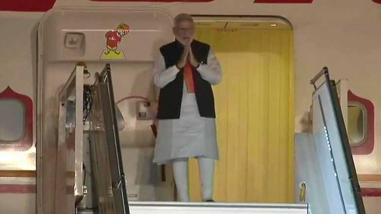 सात दिवसांच्या परदेश दौऱ्यानंतर पीएम नरेंद्र मोदी भारतात परत; विमानतळावर जंगी स्वागत, पंतप्रधानांनी मानले देशवासीयांचे आभार