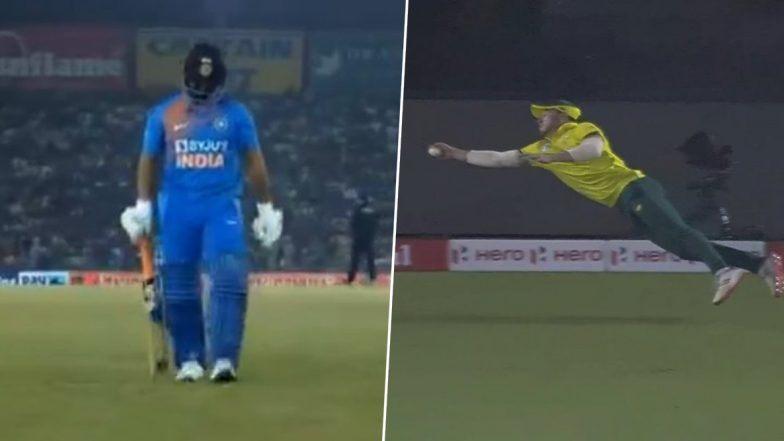 IND vs SA 2nd T20I: निष्काळजी खेळीवर Netizens कडून रिषभ पंत याला फटकार, डेविड मिलर याने लपकलेल्या 'कॅच ऑफ द इयर'चे कौतुक, (Video)